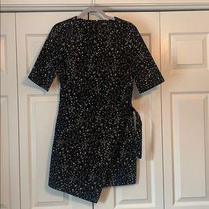 Kate Spade Saturday splatter wrap dress, size 6
